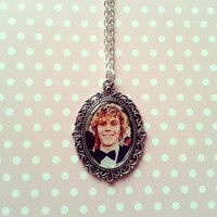 Evan Peters Cameo Necklace