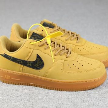 KUYOU Custom Air Force 1 X  LV Edition