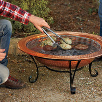 Terracina Copper Fire Pit - Kitchen and Cooking - New - NapaStyle