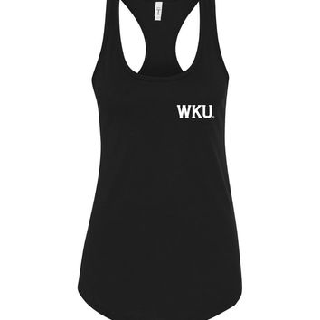 Official NCAA Western Kentucky University Big Red Hilltoppers WKU Racerback Tank - 35wku-3B