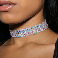 Ivory Diamond Choker Necklace