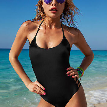 Caged One Piece - PINK - Victoria's Secret