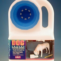 Water Boy Portable Dog Bowl - 3 Qt
