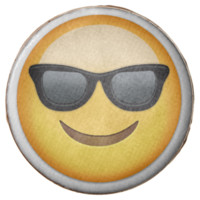 Smiling Face With Sunglasses Emoji Chocolate Covered Oreo