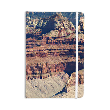 "Sylvia Coomes ""Grand Canyon Landscape 1"" Brown Tan Everything Notebook"