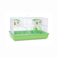 Prevue Deluxe Hamster And Gerbil Cage / Home With Exercise Wheel, Color - Lime Green