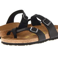 Birkenstock Mayari Sandals Black Oiled Leather