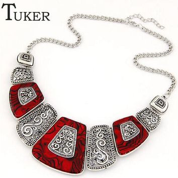 New Bohemian Choker Ethnic Bead Necklace For Women