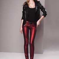 VS Siren Skinny Jean in Metallic