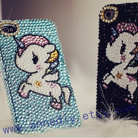 unicorn iphone 5 case, bling bling iphone 4s case, full crystal iphone 4 cases,samsung galaxy s3 case,samsung i9300 case