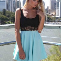 CINDERELLA DRESS , DRESSES, TOPS, BOTTOMS, JACKETS & JUMPERS, ACCESSORIES, SALE, PRE ORDER, NEW ARRIVALS, PLAYSUIT, COLOUR,,Blue,LACE,CUT OUT,BACKLESS Australia, Queensland, Brisbane