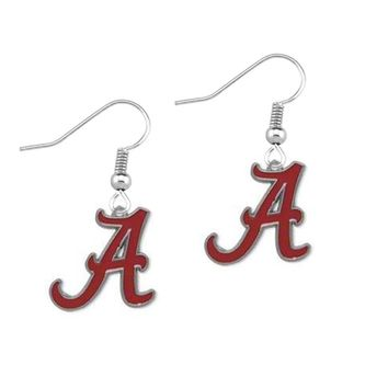 Skyrim University of Alabama Crimson Tide Enamel Earring High Quality Zinc Alloy earring Sporty Style for Women