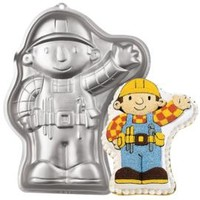Bob The Builder™ Cake Pan Instructions