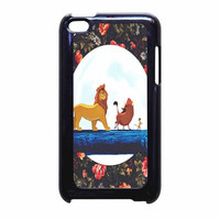 The Lion King Disney Floral iPod Touch 4th Generation Case
