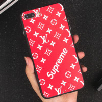 LV 2017 Hot ! iPhone X iPhone 8 iPhone 8 plus - Stylish Cute On Sale Hot Deal Apple Matte Couple Phone Case For iphone 6 6s 6plus 6s plusiPhone 7 iPhone 7 plus