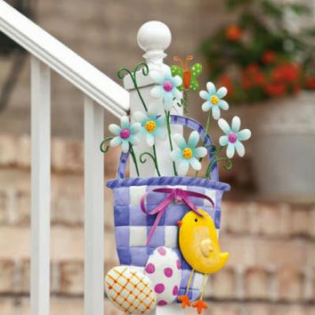 Wall Decoration - Easter Basket