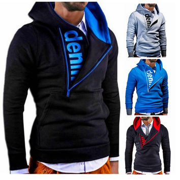 Hot Sale Summer Zippers Men Hoodies Jacket [6528650883]