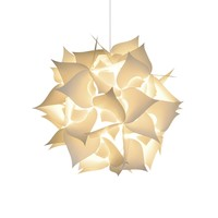 Medium Spades Pendant Light - Warm white glow