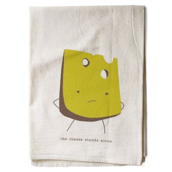 Lonely Cheese All Natural Flour Sack Tea Towel