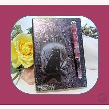 Witches Spell with Pen Journal
