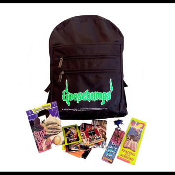 Vintage Goosebumps Backpack! Rare 90s club kid