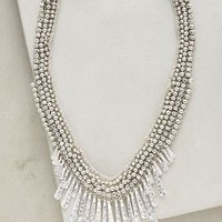 Needle Ice Necklace by Anthropologie in Silver Size: One Size Necklaces