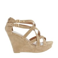 2Buckle Strappy Wedge