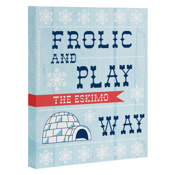 Heather Dutton Frolic And Play Art Canvas
