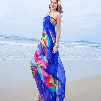 Women's Beach Bikini Cover Up Dress
