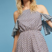 Madalenna Open-Shoulder Romper