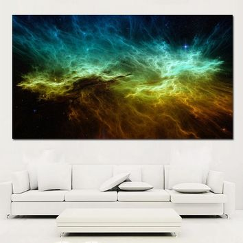 SELFLESSLY Space Star Poster Prints Big Size Canvas Painting Wall Art Printing Landscape Wall Pictures For Living Room Unframed
