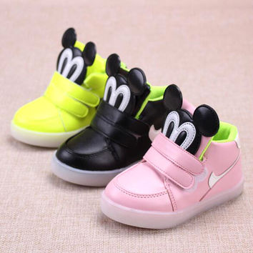 2016 New Autumn Glitter Kids Fit Girl Boy yeezy Shoes Fashion Sport Shoes Star Sneaker Shoes For Girls 10 Size nmd