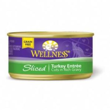 Wellness Sliced Turkey Entree Cat Food