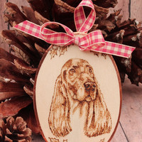 Irish Setter Christmas Ornament, Gift Topper or Gift.