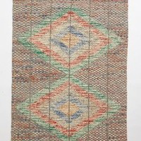 Kilim Pop Stitch Rug by Anthropologie