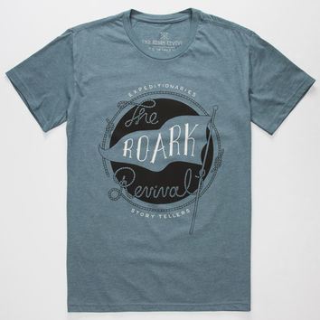 Roark Expeditionaries Mens T-Shirt Indigo  In Sizes