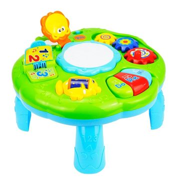 Baby Toys Educational 13-24 Months Musical Toys For Baby Toddlers Infants Activity Play Table Brinquedos Para Bebe Oyuncak