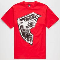 Famous Stars & Straps Boom Boh Mens T-Shirt Red  In Sizes
