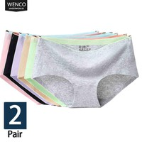 2018 briefs panties for women cotton seamless panties woman Mid-Rise Sexy lingerie women seamless panties  Girl shorts culotte