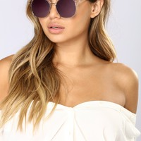 SoHo Sunglasses - Rose Gold