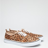 Leopard Canvas Low Tops | Footwear | rue21