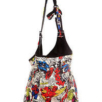 Marvel Universe Heroes Hobo Bag | Hot Topic