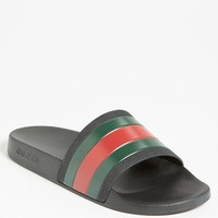 Men's Gucci 'Pursuit '72 Slide' Sandal,