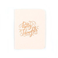 Pretty Thoughts Pocket Notebook