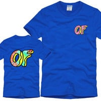 Odd Future Awesome Donut Blue T-Shirt