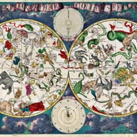 Zodiac Map Poster 24inx36in Poster