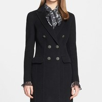 Women's St. John Collection Double Breasted Coat,