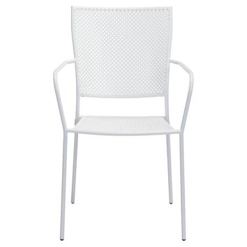 Zuo Pom Dining Chair - White : Target