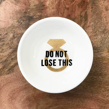 Do Not Lose This Wedding/Engagement Ring Dish