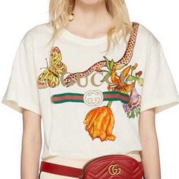 GUCCI Totem flower T-shirt